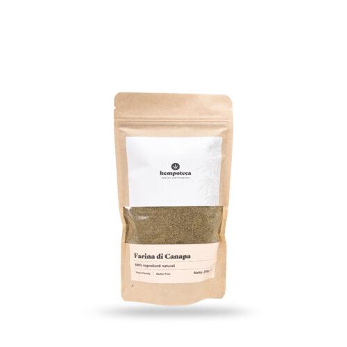 farina di canapa senza glutine
